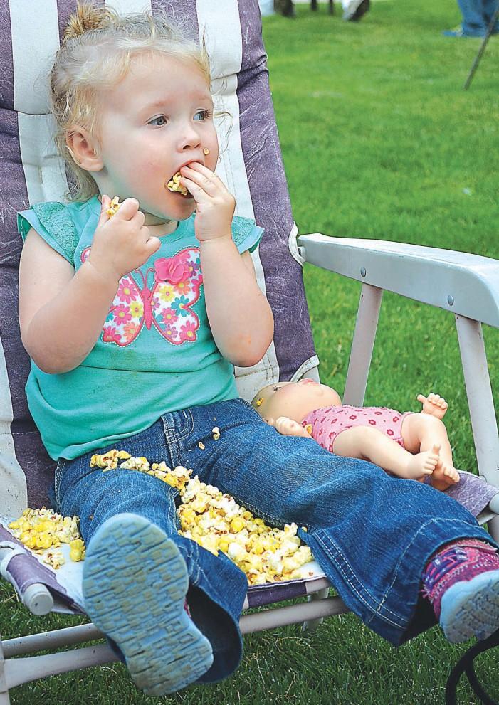 Meet the popcorn kid