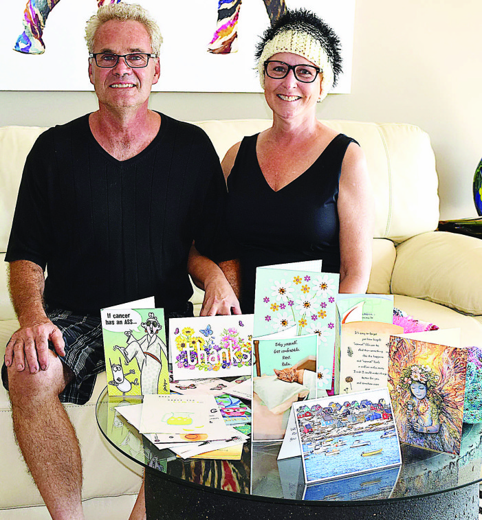 Community supports couple battling cancer
