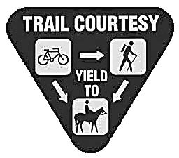 This is the kind of sign that will be placed along the Polly Ann Trail.