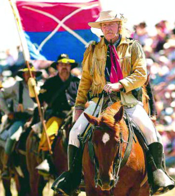 Richard E. Williams is bringing his portrayal of 19th-century U.S. Calvary Commander George Armstrong Custer to Oxford's Lone Ranger Parade and Festival Aug. 5.