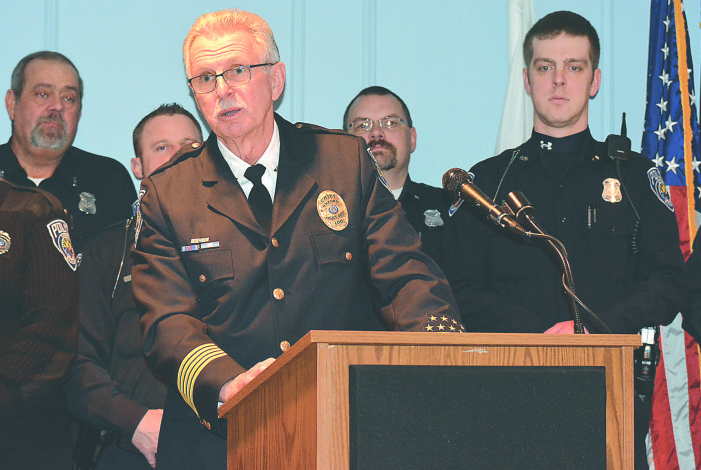 No more Nemo: Police chief bids farewell after 17 years
