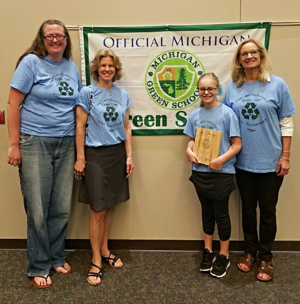 Danielle Corrigan (from left) , Renee Felix, Avery Felix, 5, and Diane Lukas-Noe.