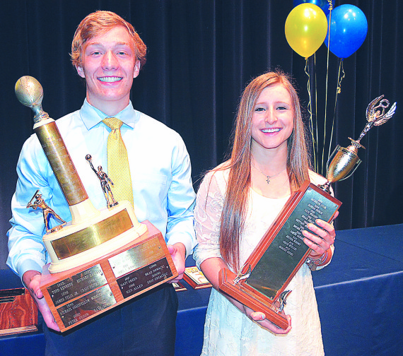 Barry, Dinges win Prince, Smith awards