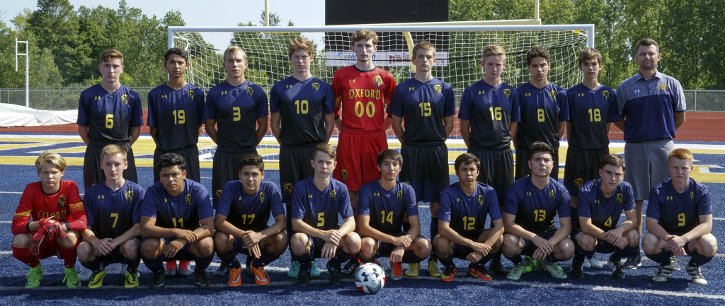 Back Row (from left) Nick Allen, Jesus Escalante, Mitchel Morawski, Jacob Sharpe, Matthew Black, Brent Bayley, Sam Huller, Johnny Fallis, Pedro Bottene, and Head Coach Thaler. Front row (from left) Tristan Bennett, Brennan Burrows, Mario Palacios, Chris Escalante, Nathan Vaquera, Tristan Vokes, Coda Mendoza, Miguel Magdaleno-Rodriguez, Nick Morawski, and Cavan Vince. Photo by Matt Johnson.