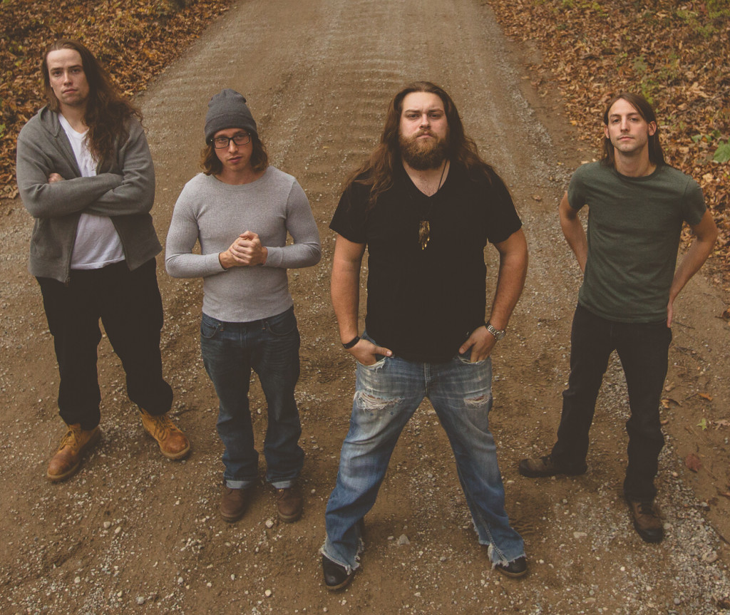 "The Native Howl, of Leonard, is making waves in the music world with its ""thrash grass"" sound. The band consists of Josh LeMieux (from left), Jake Sawicki, Alex Holycross, and Mark Chandler. Photo provided."