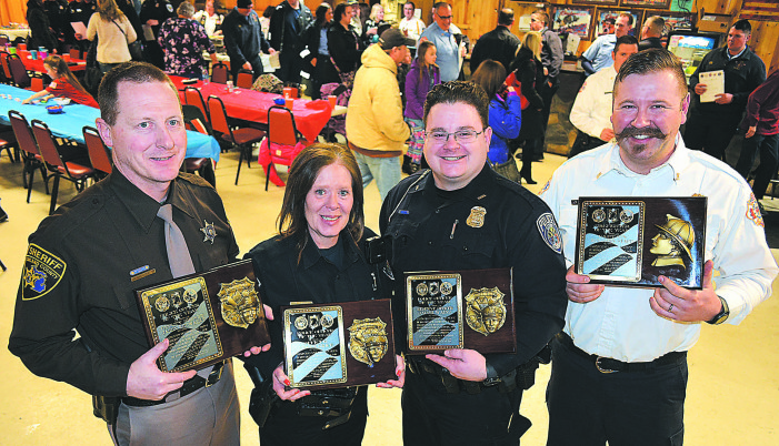 Legion Auxiliary honors public safety personnel