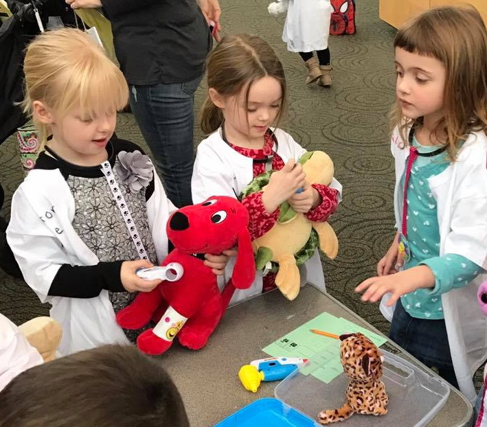 Get your stuffed animal a checkup on March 10.