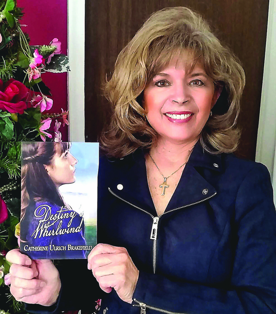 """Catherine Brakefield's new novel """"Destiny's Whirlwind"""" is set to be released April 17."""