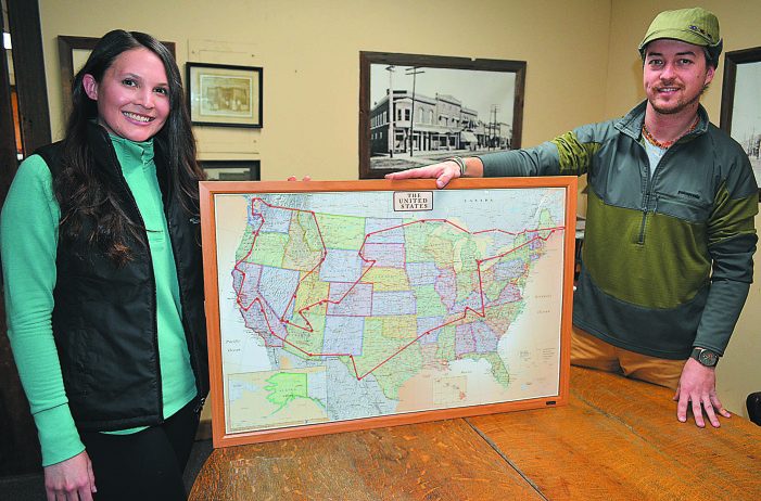 Hitting the road: Couple cuts ties to follow their dreams