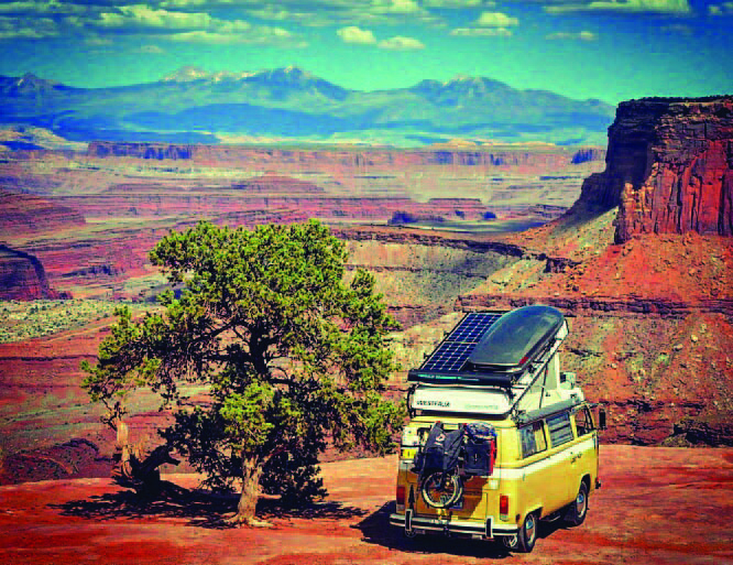 This beautiful photo was snapped in Canyonlands National Park in Utah. Every day is a postcard for Oxford's nomads.