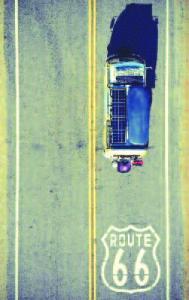 Rolling along in their 1978 Volkswagen Westfalia camper bus, Derek Kala and Ashlee Dark got their kicks on the iconic Route 66.
