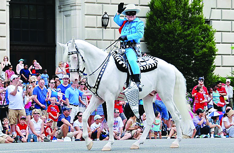 Garry Cherricks, who's portrayed The Lone Ranger across the country, will bring his version of the masked Old West lawman to downtown Oxford on Saturday, Aug. 4.