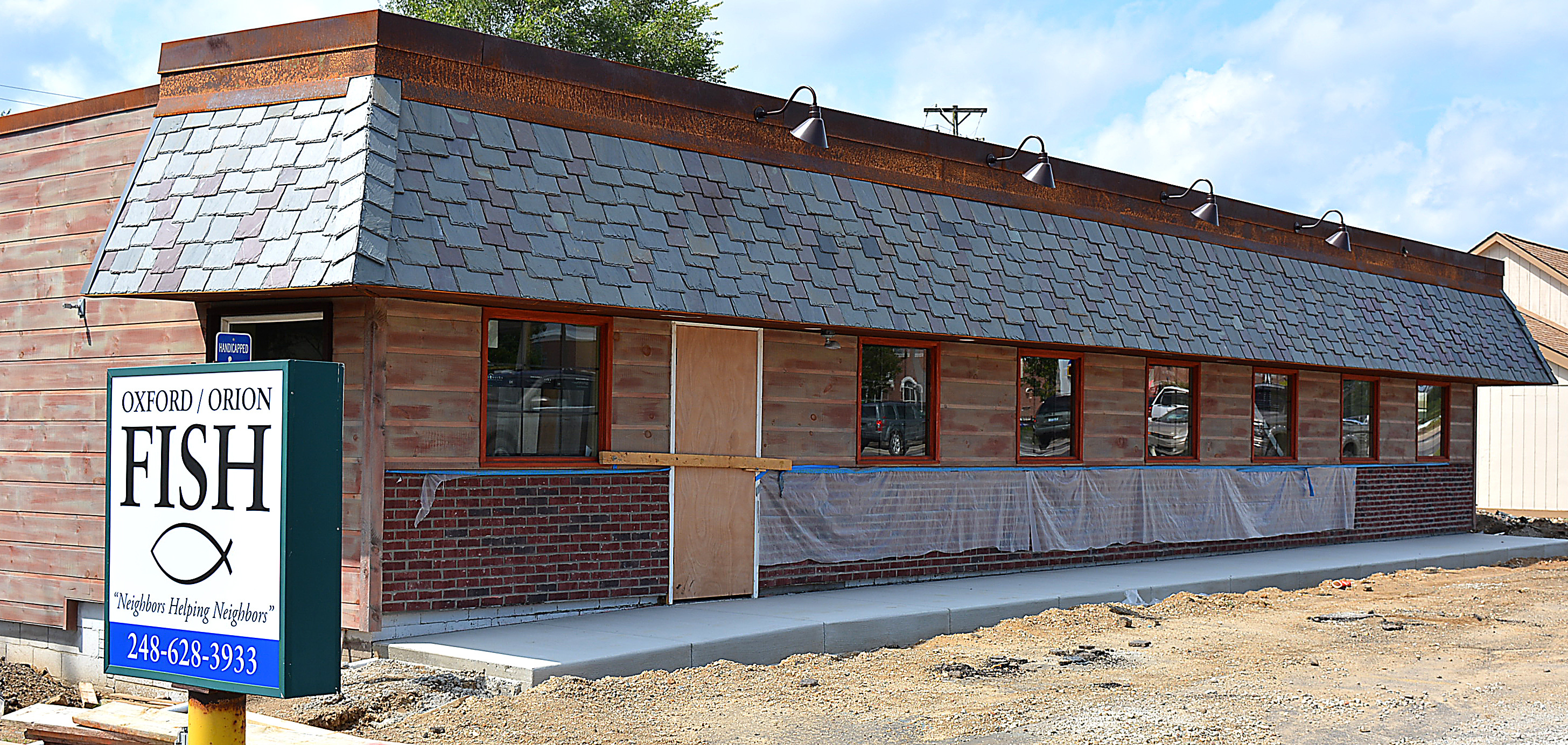 Oxford-Orion FISH's new food pantry is located at 1060 S. Lapeer Rd.