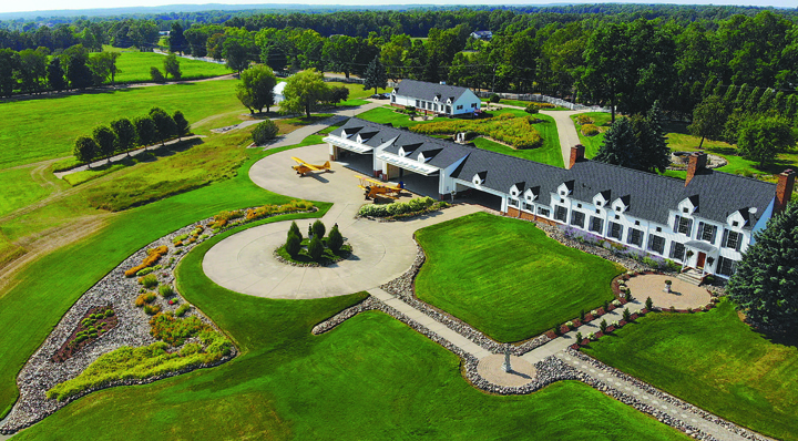 "After 30 years of hosting prominent guests and preserving, as owner Philip Handleman put it, ""the spirit of flight in our little corner of the world,"" the 155-acre Sky Ranch property, located at 4173 Noble Rd. in Oxford Township, is for sale. It's listed for $4 million. Photo courtesy of Dan Gutfreund Realty Group of Signature Sotheby's International Realty."