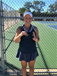 Opalewski, a senior this year, finished with a 15-2 record. Photo provided.