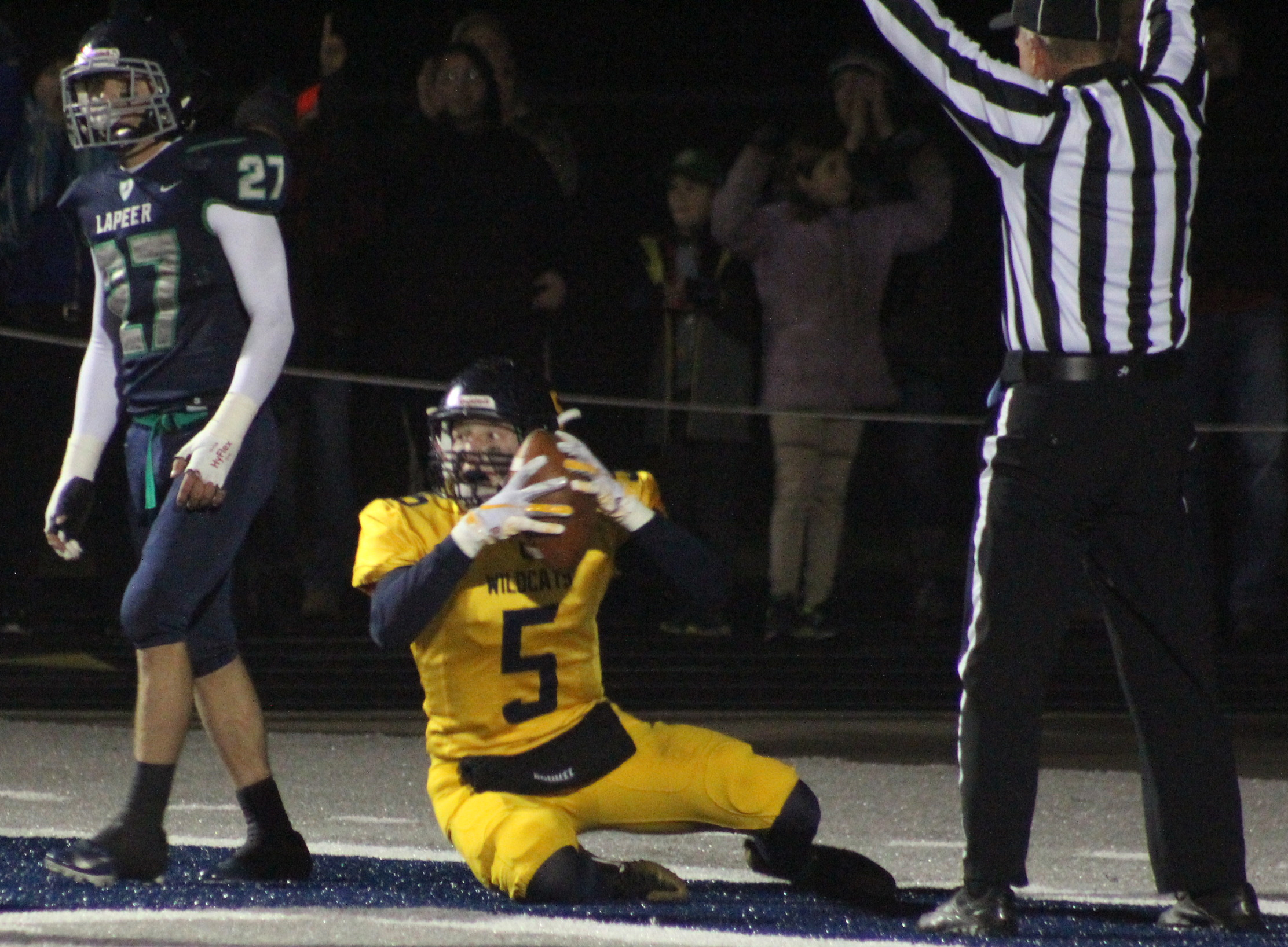 Joseph Miller scored Oxford's only touchdown of the game. Photos by Joe Oster.