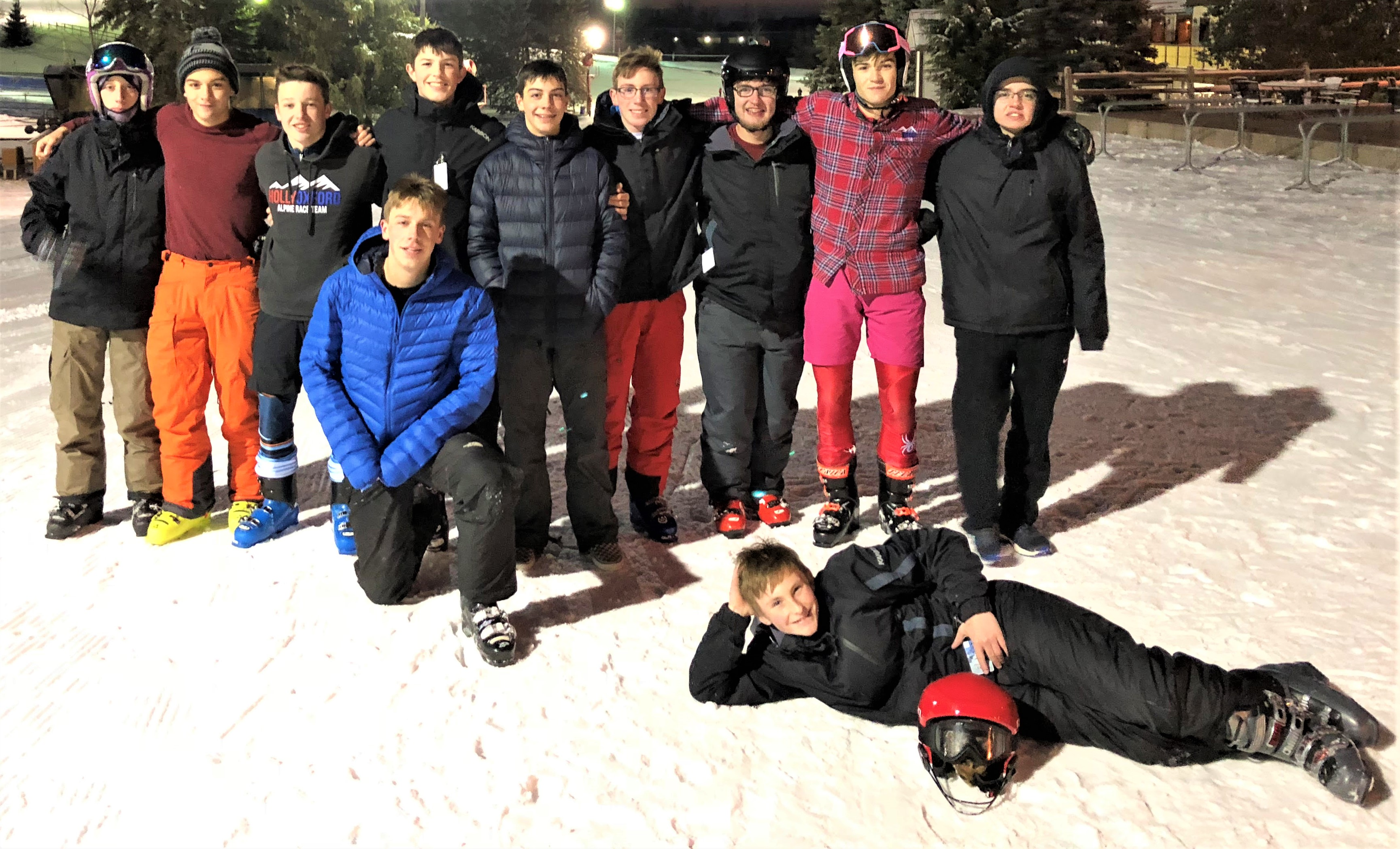 Back row, from left: Leyton Reister, Jack Ford, Nick Reese, Mitchell Tiell, Jacob Denman, Cole Kennedy, Noah Ramsey, Connor Ford and Brendan Coughlin. Front row: Connor Denman and Alec Curtis. Photo provided.