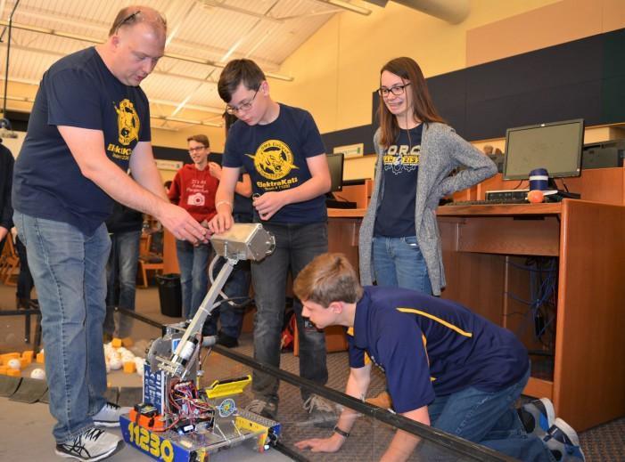 Robotics team kicks off new season