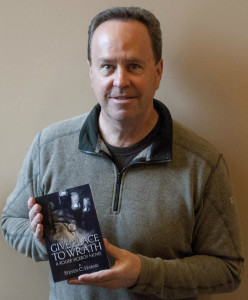 """Oxford author Steve Harms  and his new novel """"Give Place to Wrath."""" Photo provided."""