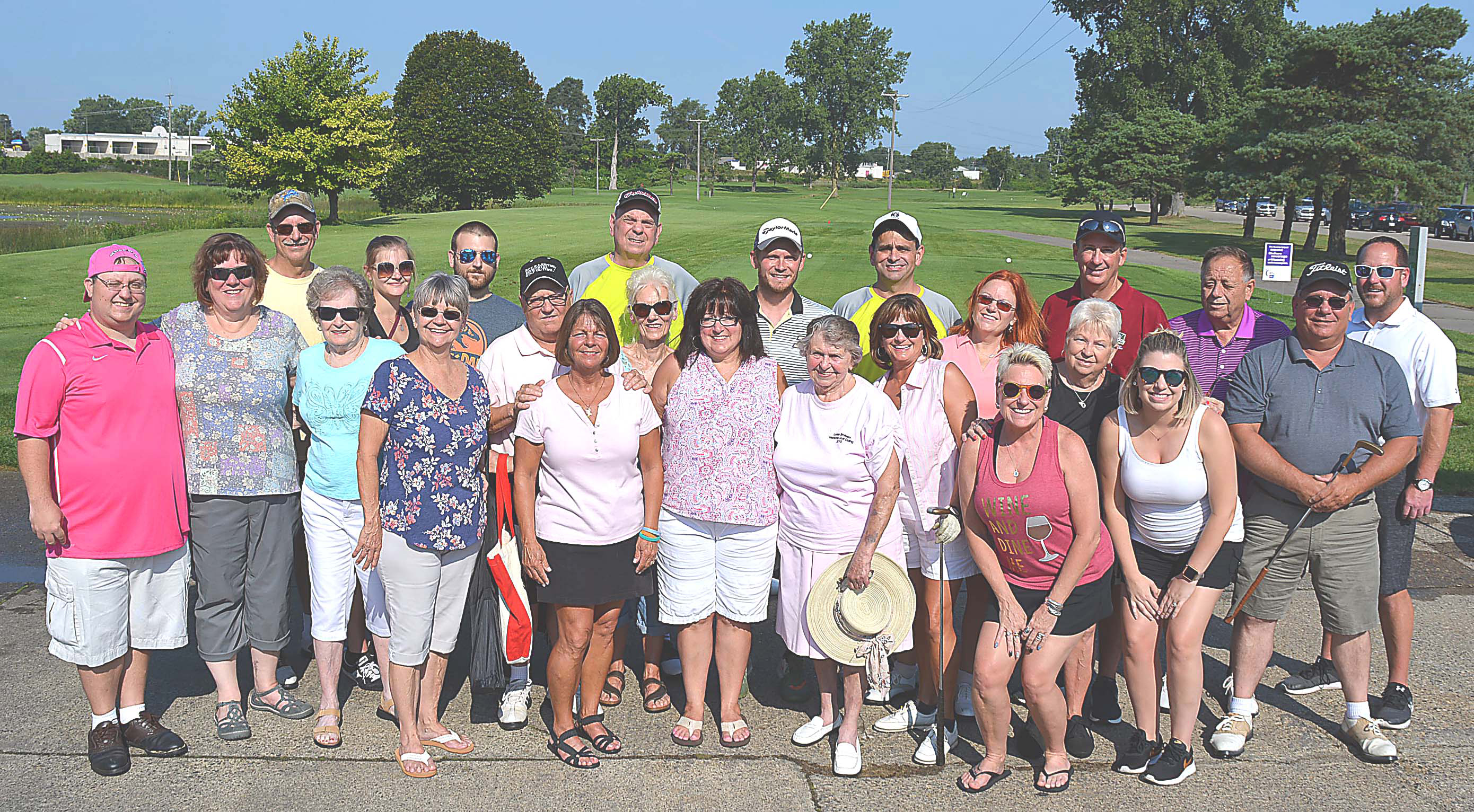 On Sunday, the Lester family hosted its 20th Annual Roy and Budd Lester Memorial Golf Scramble at the Oxford Hills Golf Club. A total of 144 golfers hit the course on E. Drahner Rd. to have fun and help fight cancer. Photo by C.J. Carnacchio.