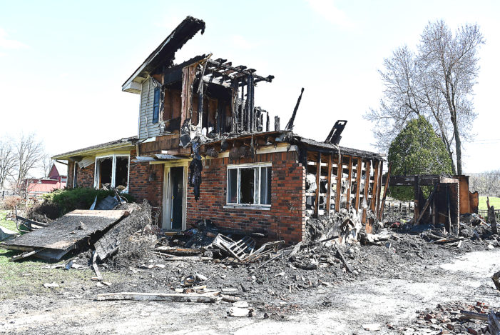 Fire destroys family's home; community rallies to help