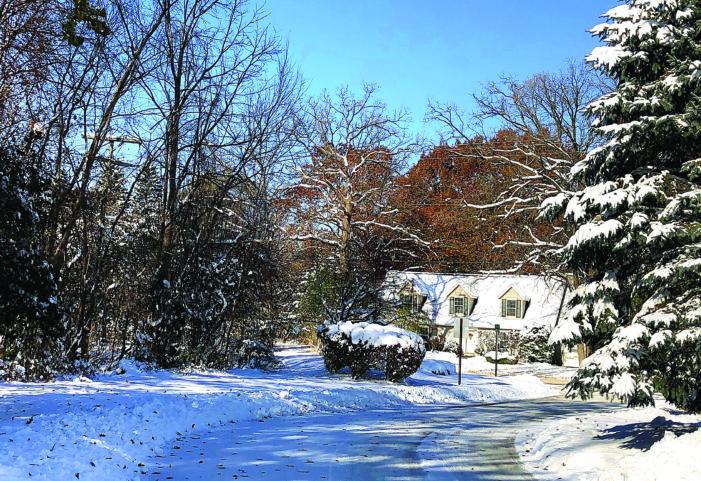 Let it snow, let it snow, let it snow?