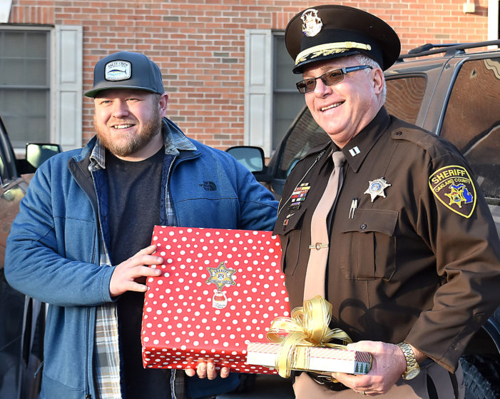 Sheriff's Office adopts a local veteran