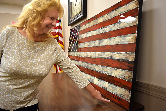 Patriotism waves in Addison Township