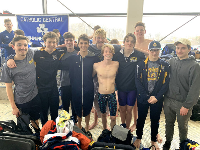 Wildcat swimmers and divers compete in County Championships