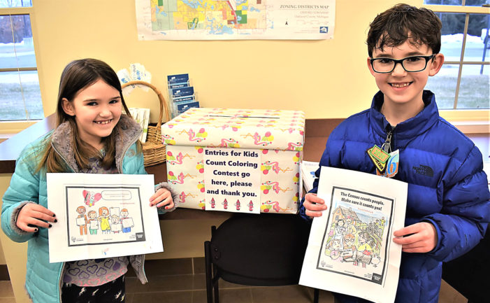 Coloring contest to spark census discussion