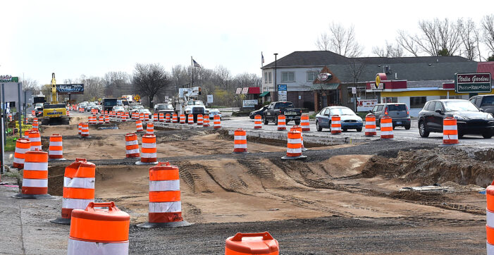 M-24 construction enters first phase