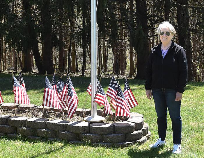 Flags placed at veteran gravesites ahead of Memorial Day