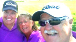 Golf has been a family affair for Hubbard