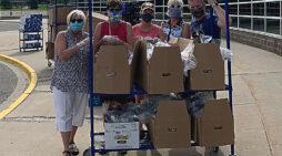 Schools distributed 100,000 meals