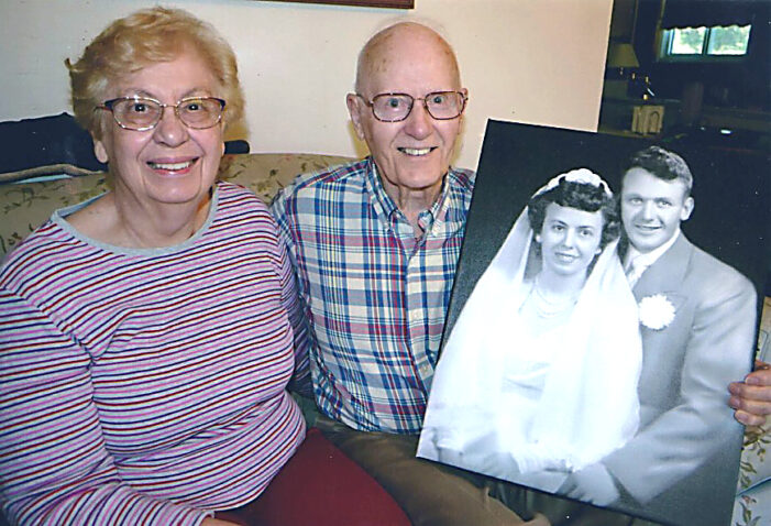 Local couple celebrating 70 years of marriage