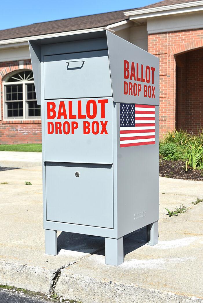 Townships ballot drop boxes ready