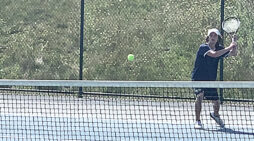 Wildcat tennis races out of gate, downing Brandon
