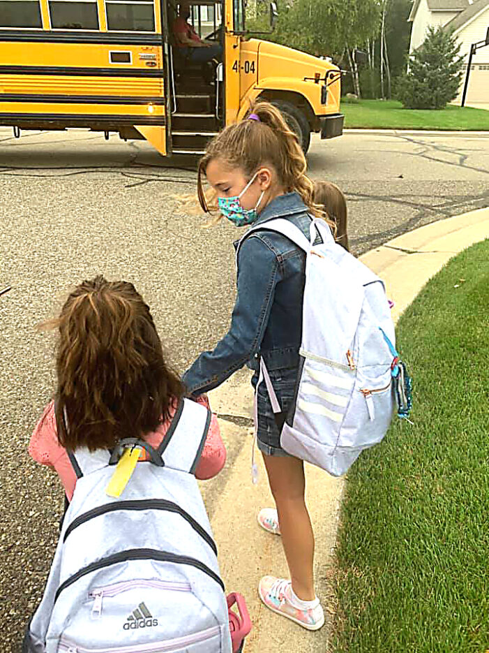 In-person a success — the first week of school 2020-2021