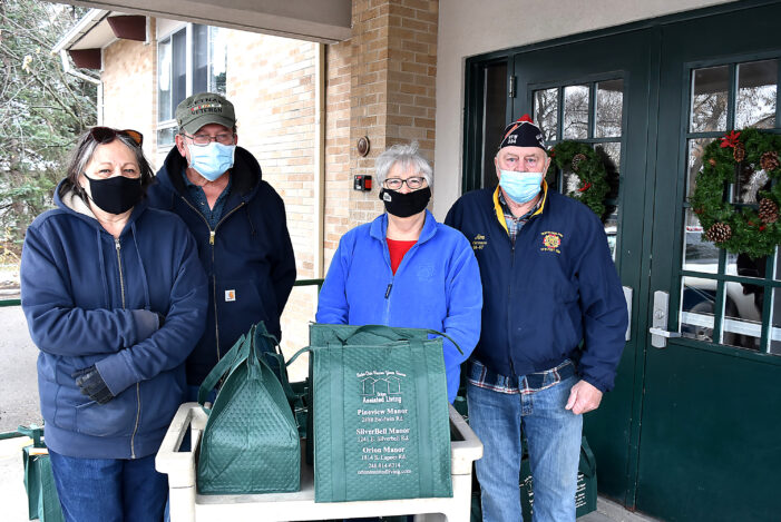 VFW makes holiday meal donations