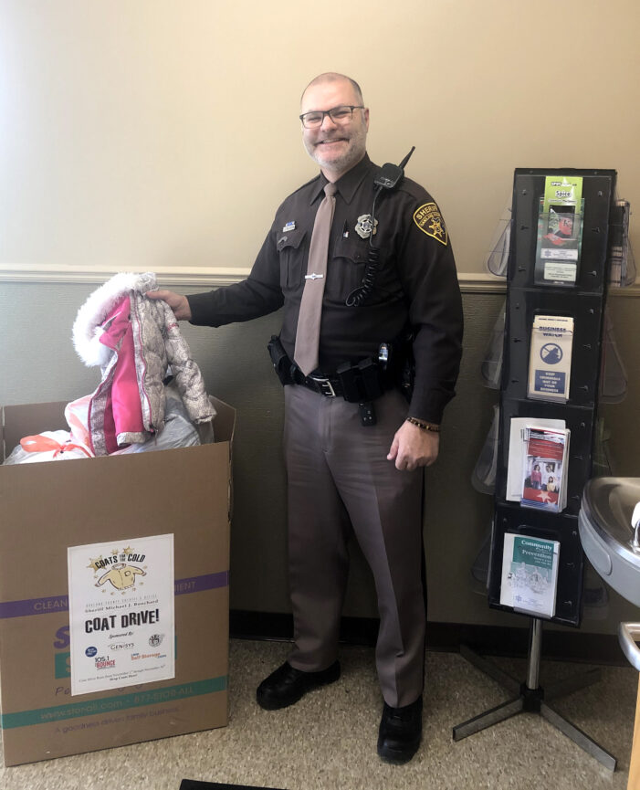 Sheriff's Office kicks off 'Coats for Cold' campaign