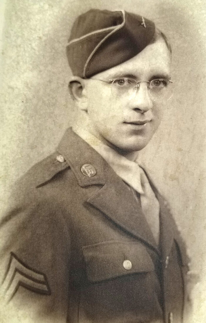 Sgt. 'stripes' received 75 years later