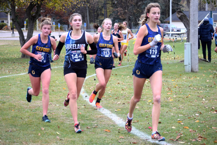 Oxford's Patterson moving on to state cross country meet