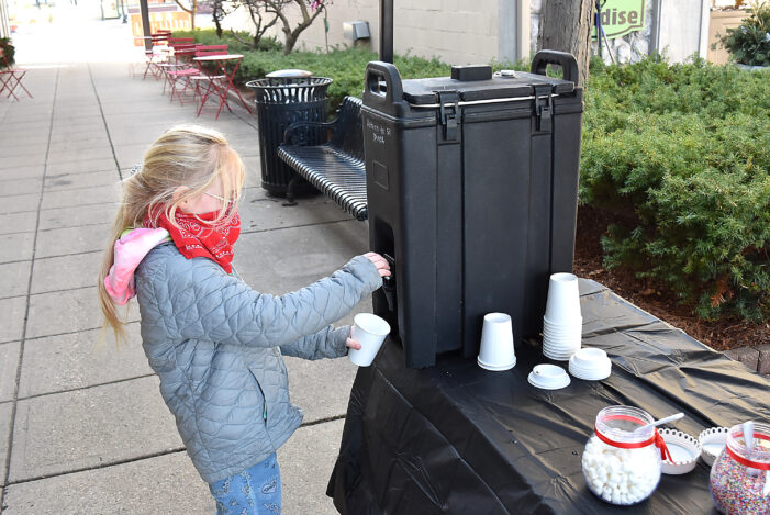 Small Business Saturday: Serving up hot cocoa to help warm up customers