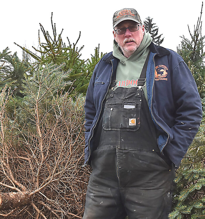 Recycle your Christmas tree to help the parks