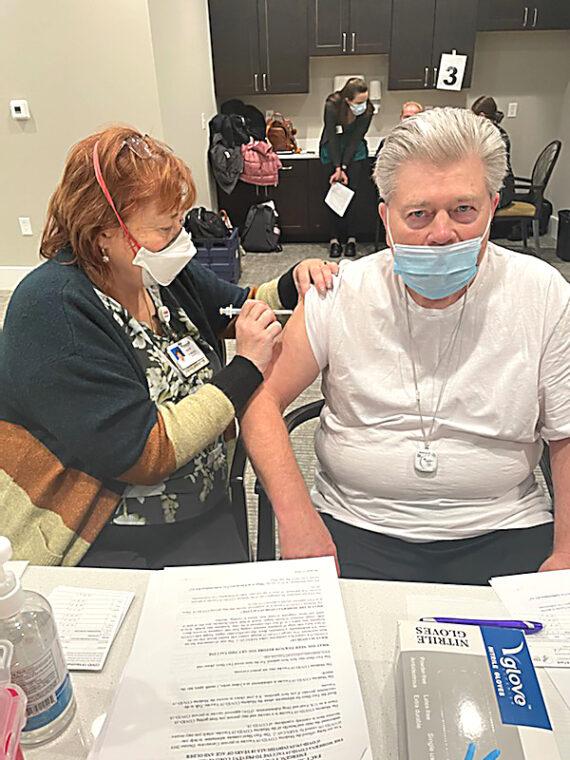 Seniors vaccinated