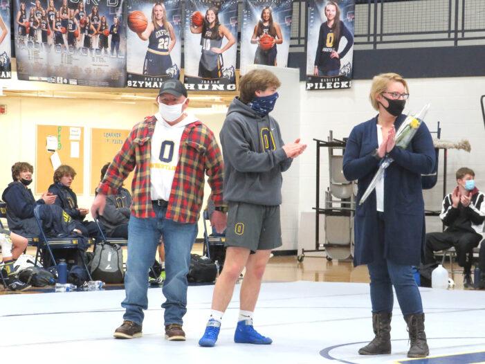 Recognizing Oxford's senior wrestlers