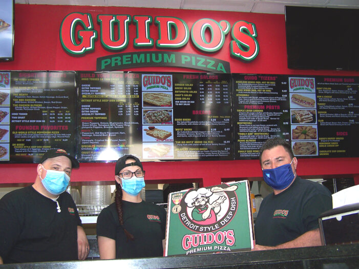 Guido's Pizza is positive about the future