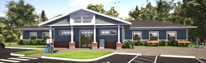 Addison library seeks Congressional funding, nears site approval