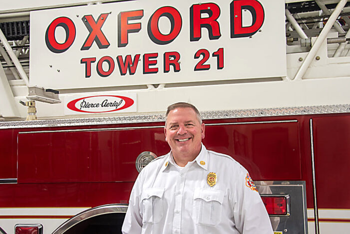 Majestic new Oxford assistant fire chief