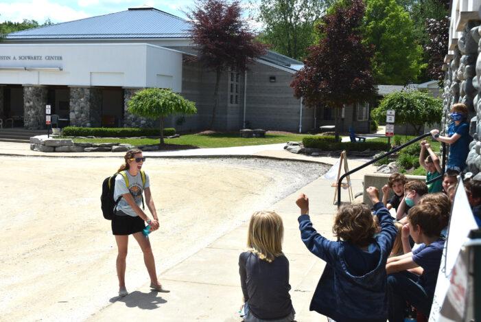 Kingsbury class celebrates 500 hours outdoors